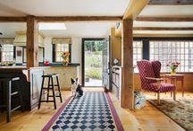 Floor Designs and Decorations / Some ideas for intricate floor designs and exciting colors from our own architectural projects, as well as inspiration from other sources