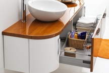 curvy shapes / Curvy shaped Antado bathroom furniture #bathroom #furniture