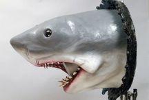Shark Sculture