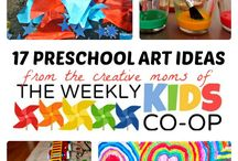 At home Preschool ideas / by Kimberly Levi-Stordeur