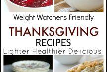 Weight Watchers Thanksgiving & Christmas Ideas