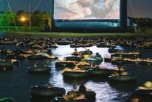 Jaws on the Water / If floating on an inner tube on a dark lake in central Texas late at night with 750 of your best friends watching what is arguably one of the most terrifying movies of all time is your idea of a great time; This is your night!