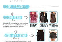 Disimular tripa y ropa