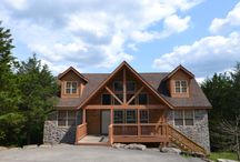 Lodges at StoneBridge Resort / Our Branson lodges come in 1, 2, 3, & 4 bedroom floor plans.