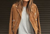 suede jacket styling