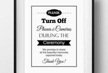 HDJ // Wedding Document Ideas