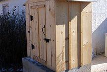 outdoor equipment/barbq/smokers etc.