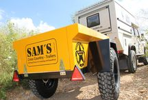 SAM THE TRAILER / SAM und Sammy, Military Jeep Style Off Road Trailer, www.cc-trailers.com