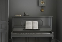 Piano Decor / Pianos tastefully used as decor in beautiful homes / by Antique Piano