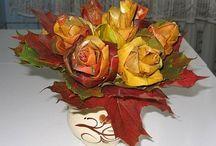Flowers - Virágok - Egyéb anyagokból