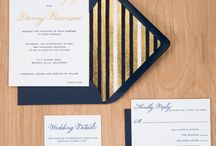 East Coast Stripe / My inspirations for creating the East Coast Stripe wedding invitation collection.