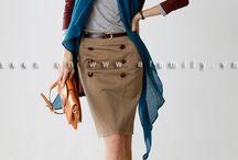 Cách mặc đẹp với váy bút chì