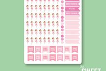 Planner Organisation and Stickers