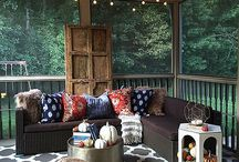 outdoor porch