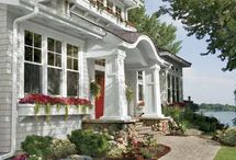 Curb Appeal / So many ideas to make your home look welcoming and cozy! / by AKA DESIGN