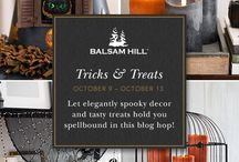 Tricks and Treats / Witness our bloggers reveal clever tricks up their sleeves, as they decorate enchanting spaces that still capture the spirit of the occasion in our Tricks and Treats housewalk.