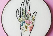 Needlework...