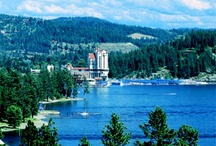 Coeur d'Alene / There's something magical about Lake Coeur d'Alene that's hard to define, but it begins with the spectacular North Idaho sunsets and moonrises, the plunge of an osprey after a fish, the glowing lights of downtown Coeur d'Alene reflecting across its waters at night.