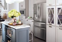 Favorite Kitchens / Here are a few kitchens that we love! Also are tips and renovation ideas to create the kitchen of your dreams!