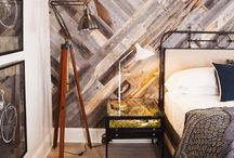 pallet wall and floor