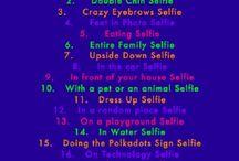 Selfie Ideas❤️