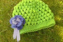 Bees and Appletrees (BLOG): Makkelijk gehaakt mutsje! - Easy crochet hat!