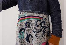 Syinspirasjon / Syinspirasjon der det har blitt brukt stoff som eg har i butikken min www.hjartesaum.no