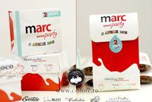 Marturii pentru botez tip cutie ciocolata custom made | Shop online / by Eventure Central Store | Toni Malloni, Event Designer & Corina Matei, Graphic Designer www.c-store.ro | www.eventure.com.ro | www.eventina.ro