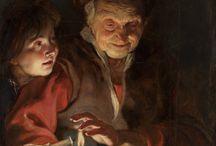 Lichtval / oude meesters