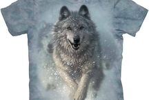 Camisetas de lobos.