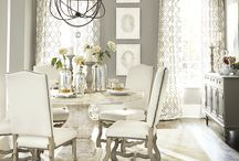 dining table chairs chanderiers