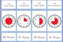 Schule Uhr