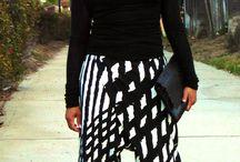 Cross Panel Harem Pants & Sheer Knit Top / Sheer Tops & Harem Pants for Grown Women www.mydailythreadz.me