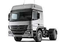 T MERCEDES BENZ TRUCKS (ATEGO) / ATEGO is a low range of trucks, specially to be used in cities,because his lower dimensions,weight and lenght,qualities that makes this truck a very good and reliable choice,for example,transports,construction,road swap cleaner & fire dept..