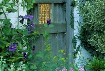 In the Garden / Garden Architecture - sheds, walls, arbors etc. / by Katherine White