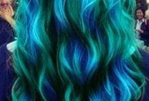cool hair /  hair style i like