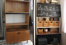 Retro bútor felújítás