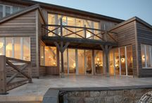 Large timber oak frame buildings / Large timber frame buildings by Carpenter Oak Cornwall. A mix of large new builds and grand extensions.
