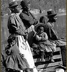 The Exodusters (the Black Migration) / African Americans migrated from states along the Mississippi River to Kansas in the late 19th century, as part of the  Exodus of 1879. This board is about Black migration across the U.S. following the Civil War.