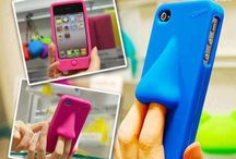 ʕʘ‿ʘʔ Crazy Case ʕʘ‿ʘʔ / This board is dedicated to the zaniest, the silliest, and downright craziest cell phone cases we've ever seen!