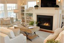 Neutral living rooms
