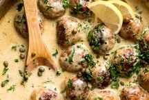 chicken creamy meatballs