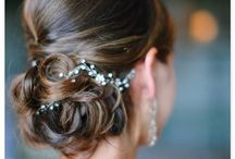 Bridal hair and beauty. / Fabulous hairstyles and make up ideas for the discerning classy bride.