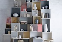 boxes/shelves/drawers