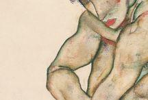 Schiele  and Klimt