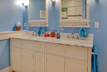 Ideas for Kids Bathroom / by Janna Coppage