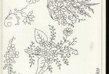 patrones dibujos y pintura