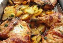 Pollo a la provensana