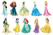 Disney Princesses / Princess party