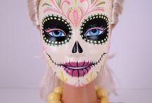 Sugar Skull/Dia de los Muertos Barbie / by Rompadomp Design